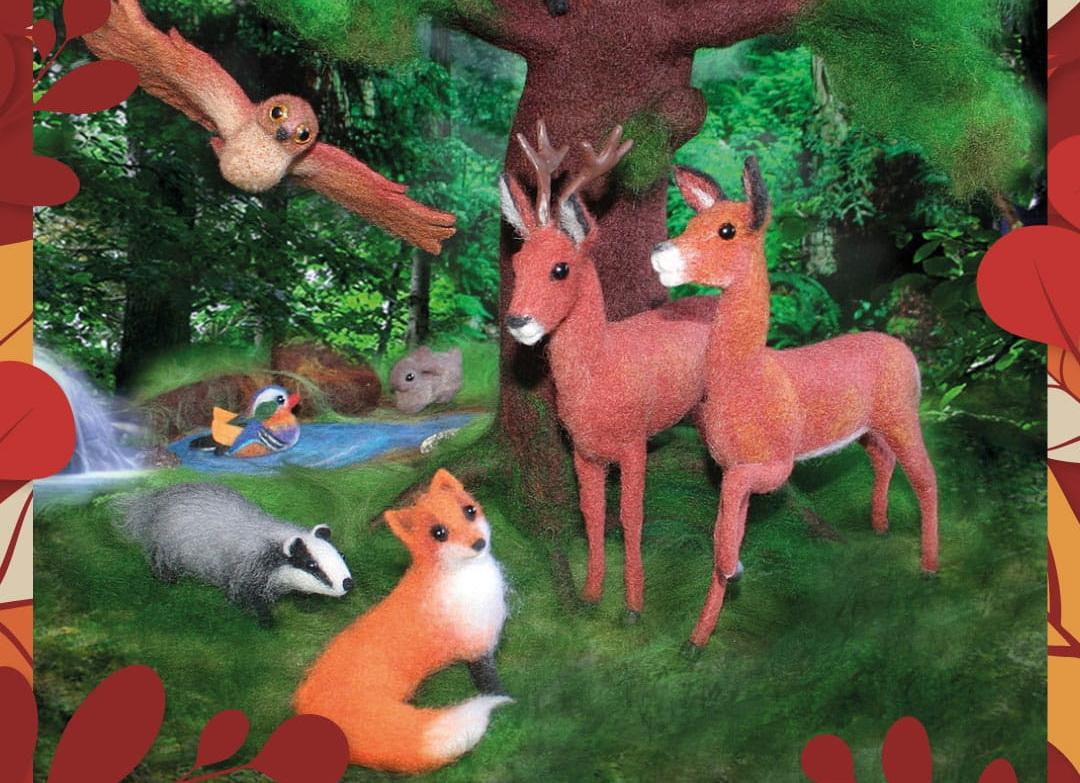 Выставка художественного войлока «Русский лес»