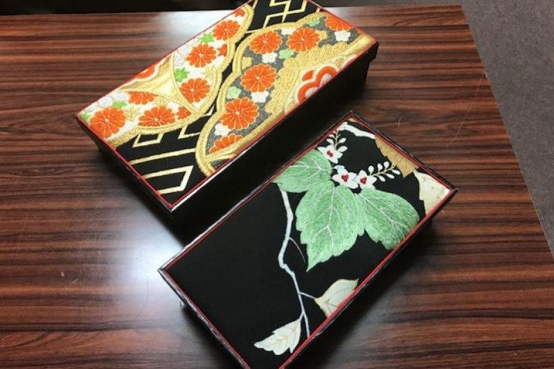 Мастер-класс по изготовлению Японских шкатулок и брошей