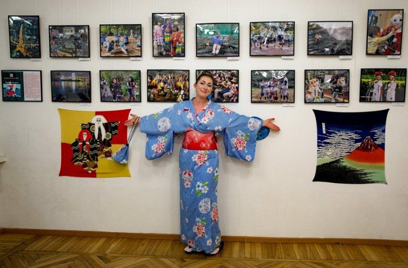 Фотовыставка к году Японии в России открылась в ПКЦНК