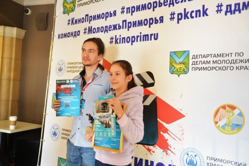 В Приморском крае проходит фестиваль-конкурс «Мое кино»