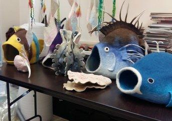 Выставка «У самого синего моря»